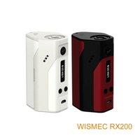 Wholesale 100 Original RX200 Wismec Reuleaux W TC Mod Joyetech Chip ohm For TC Modes Fit Battery Price