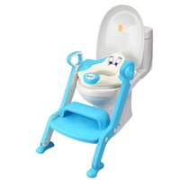 Wholesale 2016 hot sale Baby Potty Seat Ladder Children Toilet Seat Cover Kids Toilet Folding infant potty chair Training Portable