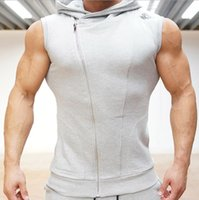 Wholesale Fall New Years Crime Gym Body Engineers Hoodies Stringer Vest Man Body Engineers Fitness Movement Sleeveless Vest Vst Tops