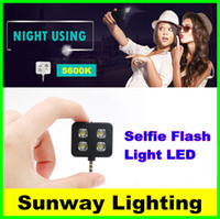 Wholesale Night using selfie enhancing flash fill light LED IBLAZR portable photographing for i Phone Plus C Android WP