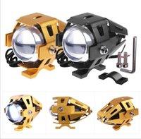 strobe light kit - Best quality universal U5 strobe headlight high power fog light motorcycle w led mini sopt light