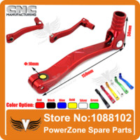 Wholesale Aluminum Alloy Gear Shift Lever Fit Dirt Pit Monkey Bike KAYO Atomik Pit Pro XMOTOR CRF50 CRF70 KLX110 TTR Parts