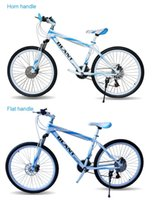 Wholesale Unisex Mountain Bike Inch Speed Double Damping Double Disc Brake Spokes Speed Bicycle