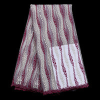 Wholesale latest new arrival african cord lace high quality guipure cord lace yard