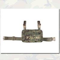 Wholesale EMERSON Modular Rife Leg Panel Accessary Painball Bag Nylon Molle Outdoor Military Combat Gear Multicam AOR1 EM6277E