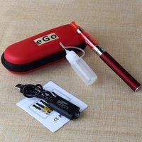 Cheap CE4 Ego Starter Kit E-Cig Zipper Case Package Single Kit 650mah 900mah 1100mah DHL free shipping
