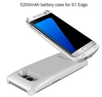 bac pack - 5200mAh Detachable External Power Bank Charger Pack Backup Battery Case for Samsung Galaxy S7 Edge with Kickstand Samsung Galaxy S7 Edge Bac