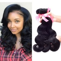 best natural beauty - 7A Brazilian Peruvian Malaysian Unprocessed human hair weave Body Wave Hot Beauty Hair Products Your Best Choise
