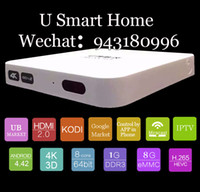 best hd stb - best selling UBOX S800 Plus oversea version Four Core Android Wireless wifi connect HD IPTV STB Box