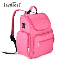 Wholesale 2016 New Colors New Arrival Elegant Baby Diaper Backpacks Nappy Bags Multifunctional Changing Bags For Mommy