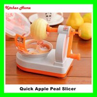 apple peeler machine - Creatice New Hand Shaking In1 Fruit Apple Peeler Pear Slicer Machine Useful Fruit Peelers Shredders Device Practical Home Kitchen Tool