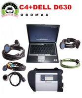 Wholesale MB SD Connect Compact MB Star C4 Diagnosis Plus D630 Laptop Software Installed Ready to Use DAS XENTRY MB Star C4
