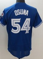 Wholesale Blue Jays STROMAN Baseball Jerseys discount Cheap mens Athletic Outdoor OSUNA CARTER TOP Baseball Wear shirT TOPS