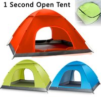 auto fiberglass - Hot sale person automatic camping tent outdoor tent high class tent one second auto tent