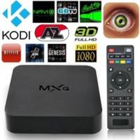 Wholesale MXQ Quad Core WiFi XBMC Kodi Full HD P Smart set TV Box G GB mxq android tv box