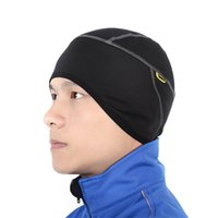 Wholesale SANTIC Winter Outdoor Sports Wear Hiking Skiing Bike Bicycle Cycling Cycle Fleece Thermal Windproof Face Mask Hat Caps C09005
