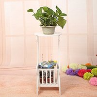 Wholesale ALightUp DIY PVC Wood Board Indoor Flower Pots Minimalist Modern Home Decoration Furniture Storage Rack Desk Storage Box