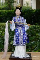 arts and craft fabric - China Beijing silk doll gift doll ornaments Red Mansions twelve women Miaoyu Features arts and crafts Package Post