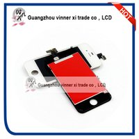 bar modelling - 10PCS Mix Model LCD Display For IPhone And S With Glass Touch Screen Digitizer Replacement Black And White Free DHL EMS