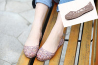 Wholesale Supernova Sales New Fashion summer breathable women shoes jelly sandals nest mesh flats for women