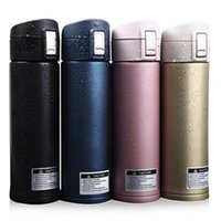 auto thermos - Hot Sale ML Stainless Steel Auto Cup Thermos Vacuum Thermo Flask Termica Bottle Travel Coffee Mugs Keep Hot Cold Water Garrafa