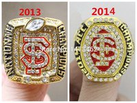 acc set - 2013 Florida State FSU Seminoles ACC National Championship Ring Gold Plated World Series Alloy Rings together