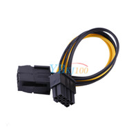 Wholesale PCI E pin Male to pin Female PCI Molex IDE Express Power Extension Cable Adapter For Video Card