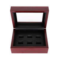 Wholesale 1PS WITHOUT RING Drop Shipping Championship Rings wood Box Jewelry Box For Display Championship Ring