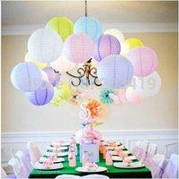 10 pouces 25cm Décorations de mariage Party <b>Lantern</b> Round Chinese <b>Lantern</b> papier pour gros Anniversaire bricolage Craft Cadeau