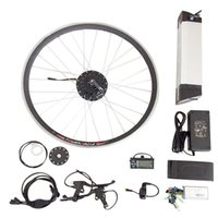 Wholesale 36V W Electric Bikes Conversion Kit With Battery Electrical Kit Conversion Bicycle Electric Bicycles Engine Kits with big controller