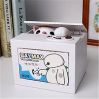 Wholesale Cat Money Pot Password Saving Pot Piggy bank Good Gifts For Children Saving money Bank box