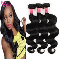 Wholesale Ladies Body Products Wholesale - Peruvian Virgin1 Body Wave Hair 100 Human Hair Weaving For Lovely Lady Non-process Peruvian Body Wave Hair Yida Hair Products 3 Bundles
