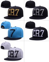 Wholesale CR7 hat three dimensional baseball cap leisure camo trukfit snapback hat custom MISFIT hats snapbacks snap back cap mixed men women caps