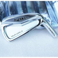 Cheap New mens Golf Clubs HONMA TW727V Golf irons Set 4-10 with N S PRO 950 steel shafts and Golf irons Grips Free shipping