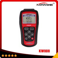 auto coverage - KONNWEI KW808 OBD2 Scanner Car KW Diagnostic Code Reader CAN Engine Reset Tool Auto Scanner Coverage