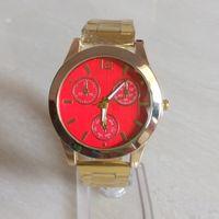animal watch straps - Hot Fashion Watch Women Golden Stainless Steel strap Quartz Watch Elegant Ladies Wristwatch gift for lady