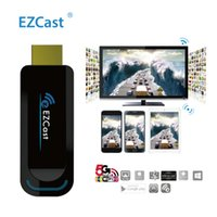Wholesale EZCast G WiFi Display Dongle Receiver Wireless HDMI Mirror2TV p Smart TV Stick MiraCast DLNA AirPlay Media Streaming Adapter