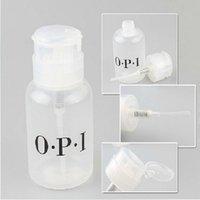 Wholesale Manicure Press The Empty Bottle Transparent Plastic Suction Bottle Special Locking Pressure Bottle Leak Can Carry Large Capacity