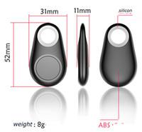 Wholesale DHL Anti Lost Smart iTag mini GPS Tracking Device Smart Key Finder Bluetooth Anti Lost