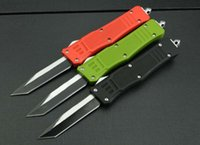 Wholesale Three color MICROTECH Trodon knife wound tooth dragon single edged knife C stainless steel knife camping knife DRC tool EDC