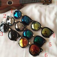 Wholesale 2016 New Kids Sunglasses Fashion Classic Children Beach Sunblock Accessories Blinkers Boys and Gils Kid Sun Glasses Colors