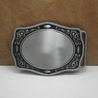 belt buckles blanks - Fashion blank DIY metal Belt Buckle With silver Finish Removable Belt Buckles for cm Width Belt Shackle for Clothes Accessories
