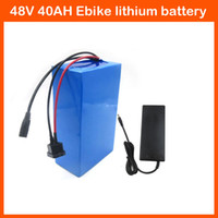 Wholesale High Capacity1000W W V AH scooter motor Electric bike Lithium battery V AH Li ion Ebike battery A BMS Charger