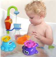 animal water fountain - baby summer water toys Children playing in the water bath Automatic rotating small fountain kids bath small toy