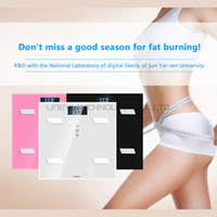 Wholesale Health Management Fat Water Scale Smart Mode with Ninth Generation Precision Sensor Large LED Display Master the Health Data for family