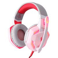 Wholesale 1PCS Gaming Headset Stereo Sound m Wired Headphone Noise Reduction with Hidden Microphone for PC Game