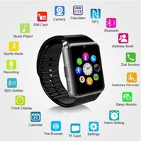 Wholesale 2016 Newest GT08 Smart watch phone gt08 for android IOS wristwear support sync smart clock smartwatches gt08 Smartwatch DHL