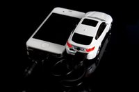 bank led model - Mini BMW X6 Portable Car charging treasure LED lights Car model Cartoon Power bank High capacity mAH Smartphone