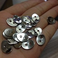 Wholesale New Silver holes Sheet Oval charms connector stainless steel Fashion Spacers Jewelry Finding Components On sale