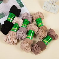 Wholesale Hot Sale Cool Breathable Summer Style Sexy Black Skin Sock Pure Color Quality Flexible Women Girls Silk Socks